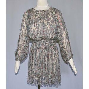 Isabel Marant Etoile Silk Print Dress 36 US 4